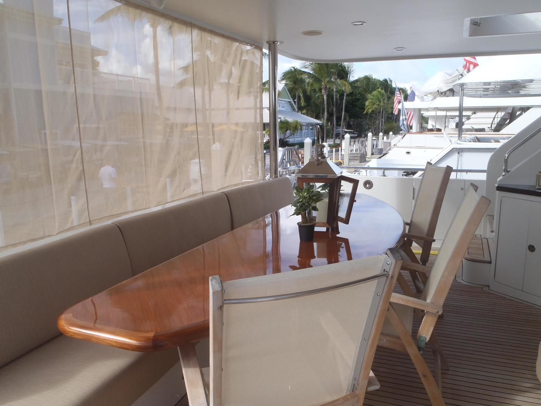 Ocean Alexander-Sky Lounge 2013-Risky Business Singer Island-Florida-United States-Aft Main Deck-519041 | Thumbnail