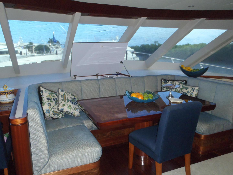 Ocean Alexander-Sky Lounge 2013-Risky Business Singer Island-Florida-United States-Fwd Galley Dinette-519045 | Thumbnail