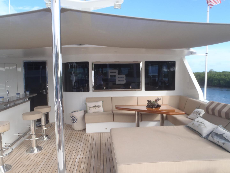 Ocean Alexander-Sky Lounge 2013-Risky Business Singer Island-Florida-United States-Aft Flybridge Deck-519040 | Thumbnail