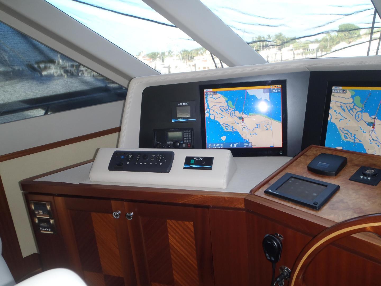 Ocean Alexander-Sky Lounge 2013-Risky Business Singer Island-Florida-United States-Helm Station Navigation-519072 | Thumbnail