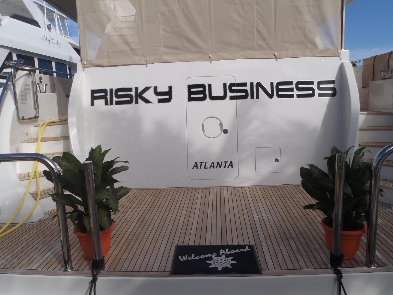 Ocean Alexander-Sky Lounge 2013-Risky Business Singer Island-Florida-United States-Transom & Swim Platform-519044 | Thumbnail