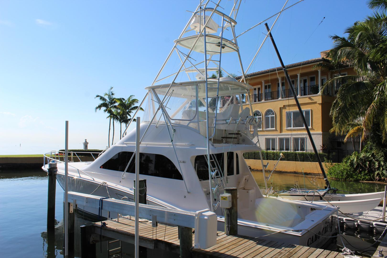 CABO BLANCO is a Cabo 48 Convertible Yacht For Sale in Miami--0
