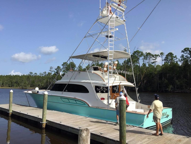 Buddy Davis-61 Sportfish 1989-ARROWHEAD Southport-Florida-United States-At dock  port-550936 | Thumbnail