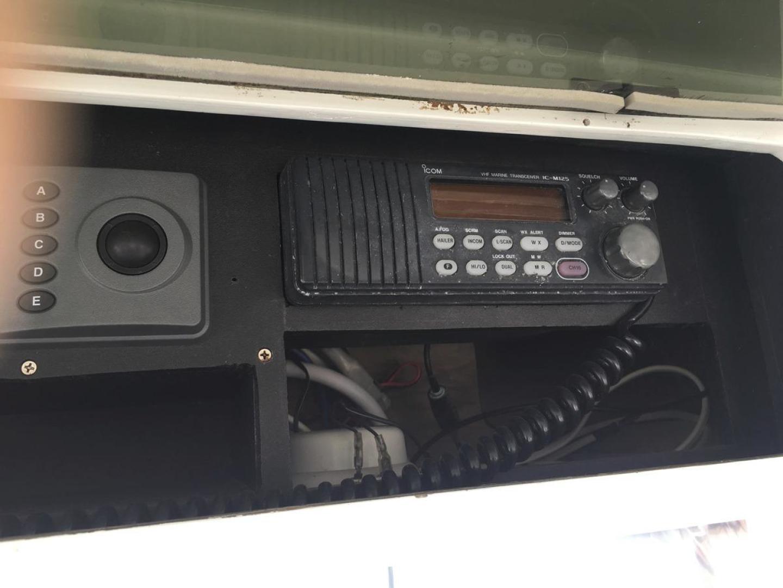 Buddy Davis-61 Sportfish 1989-ARROWHEAD Southport-Florida-United States-Electronics  ICOM M125-550952 | Thumbnail