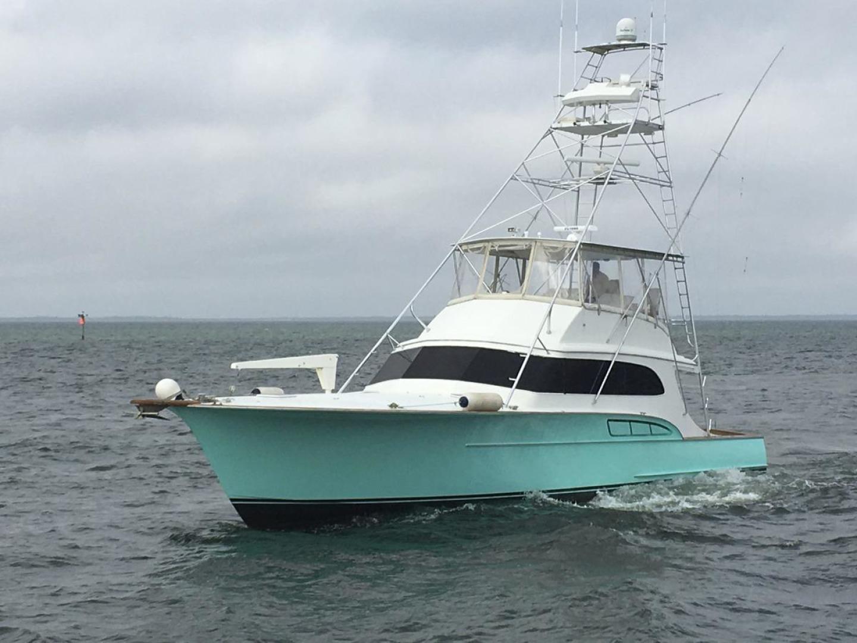Buddy Davis-61 Sportfish 1989-ARROWHEAD Southport-Florida-United States-Port idle in open water-550998 | Thumbnail