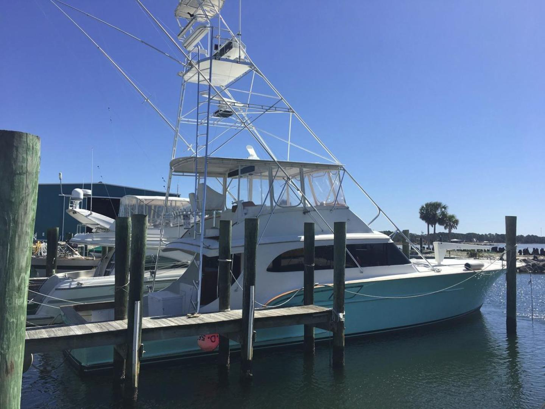 Buddy Davis-61 Sportfish 1989-ARROWHEAD Southport-Florida-United States-At dock -strbd-550945 | Thumbnail