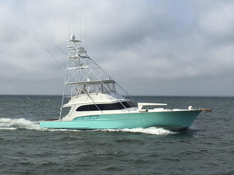 Buddy Davis-61 Sportfish 1989-ARROWHEAD Southport-Florida-United States-Starboard running-550995 | Thumbnail