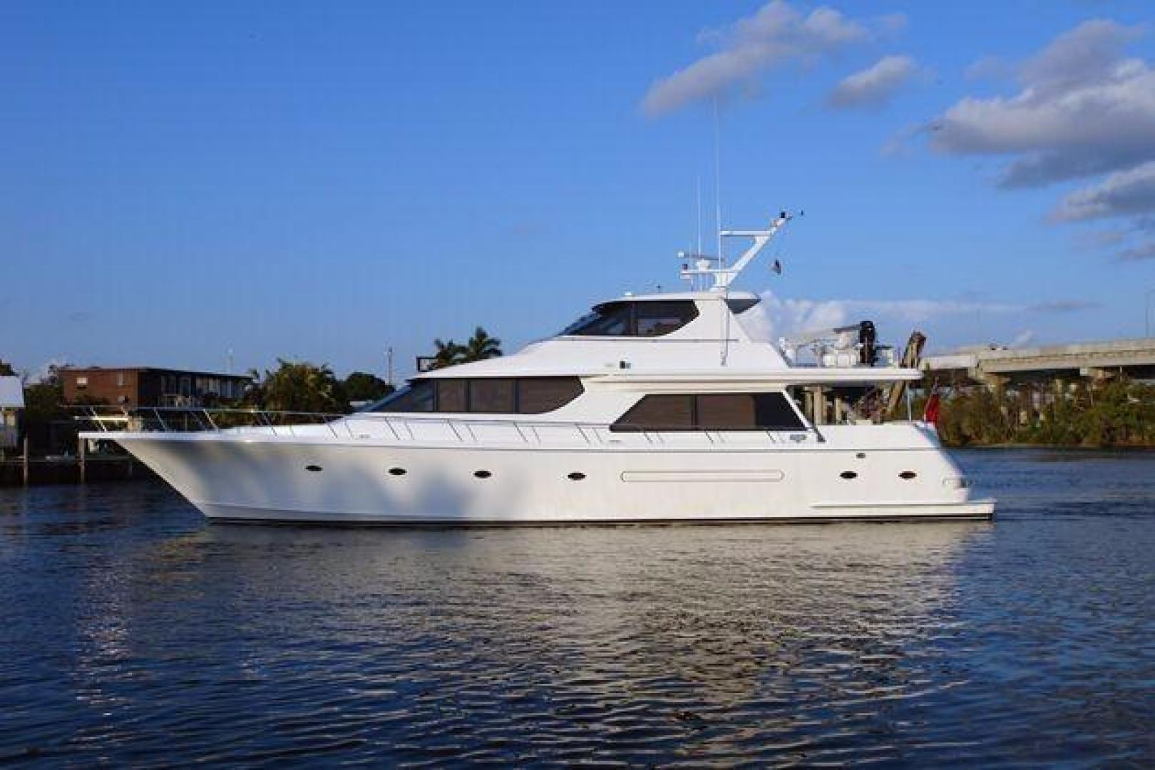 Picture Of: 78' West Bay SonShip 78 2001 Yacht For Sale | 1 of 55