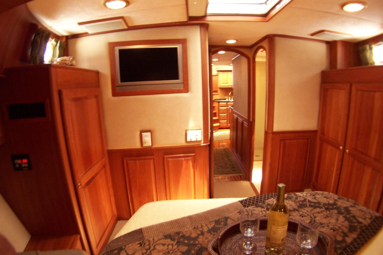 Legacy Yachts-Flybridge Sedan 2004-ARABELLA Stuart-Florida-United States-MSR to aft; 26 wall mounted TV-453047 | Thumbnail