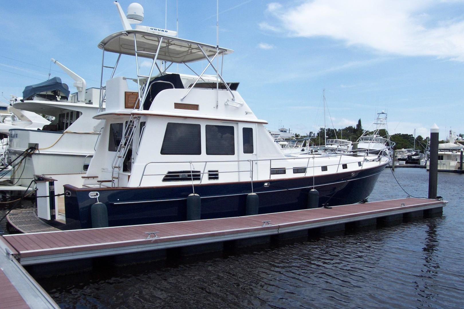 Legacy Yachts-Flybridge Sedan 2004-ARABELLA Stuart-Florida-United States-Starboard Profile-453032 | Thumbnail