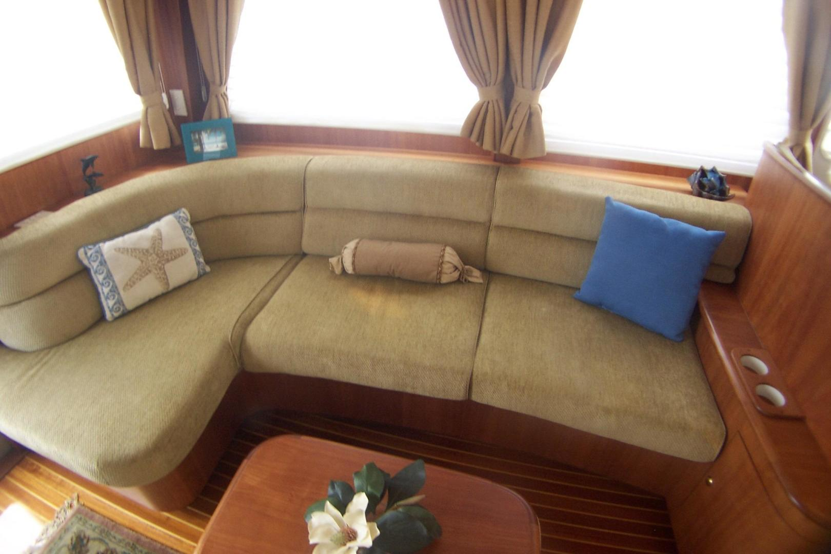 Legacy Yachts-Flybridge Sedan 2004-ARABELLA Stuart-Florida-United States-Neutral-tone cushioned couch-453054 | Thumbnail