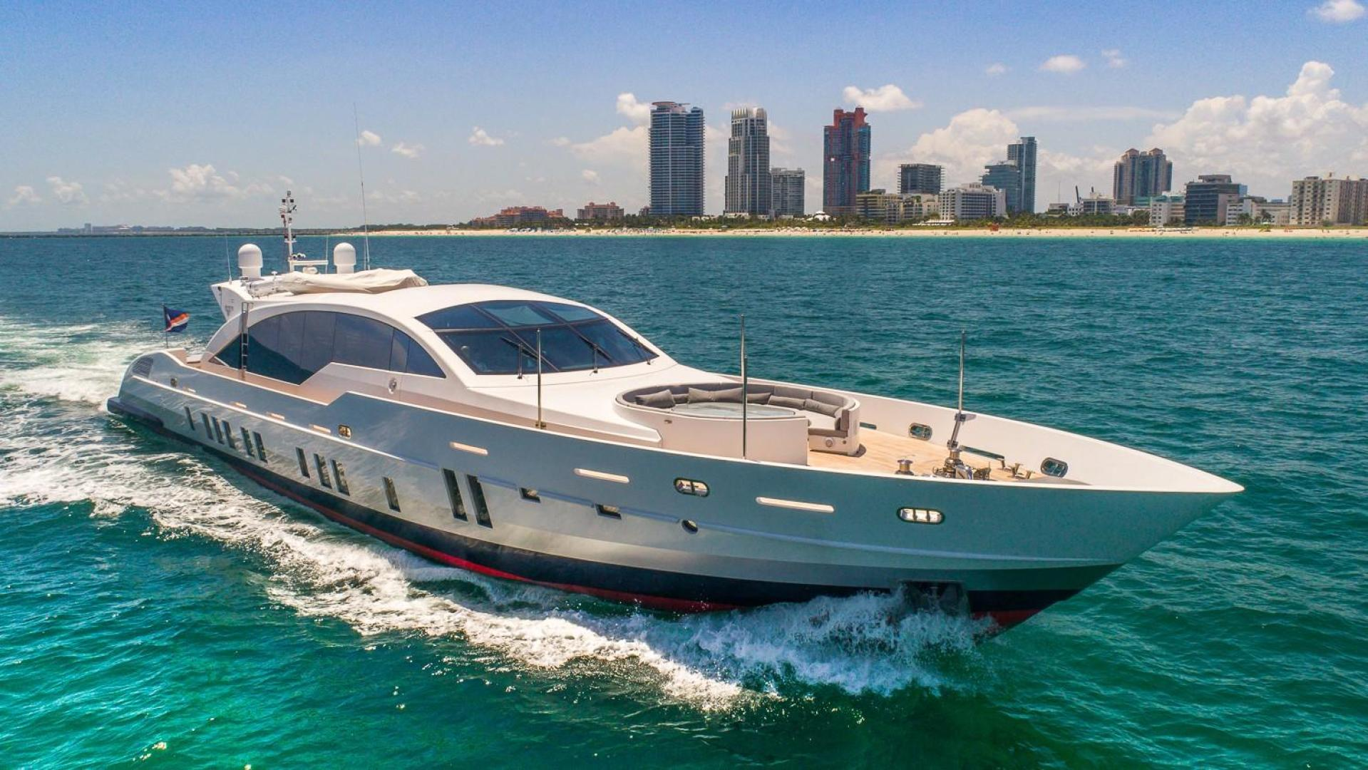 is a Tecnomar 120 Yacht For Sale in Miami--0