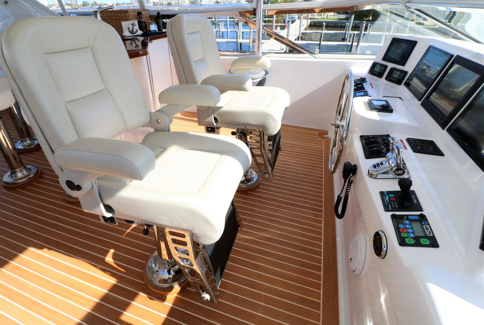 Hatteras-80 Motor Yacht 2015-Daddy Miami-Florida-United States-556303 | Thumbnail