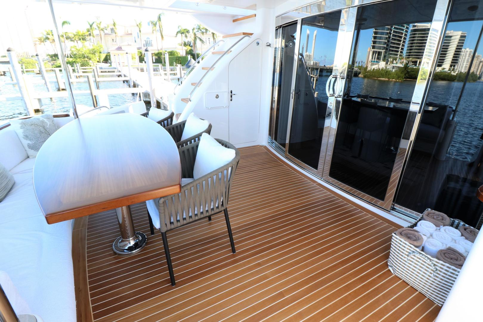 Hatteras-80 Motor Yacht 2015-Daddy Miami-Florida-United States-556312 | Thumbnail