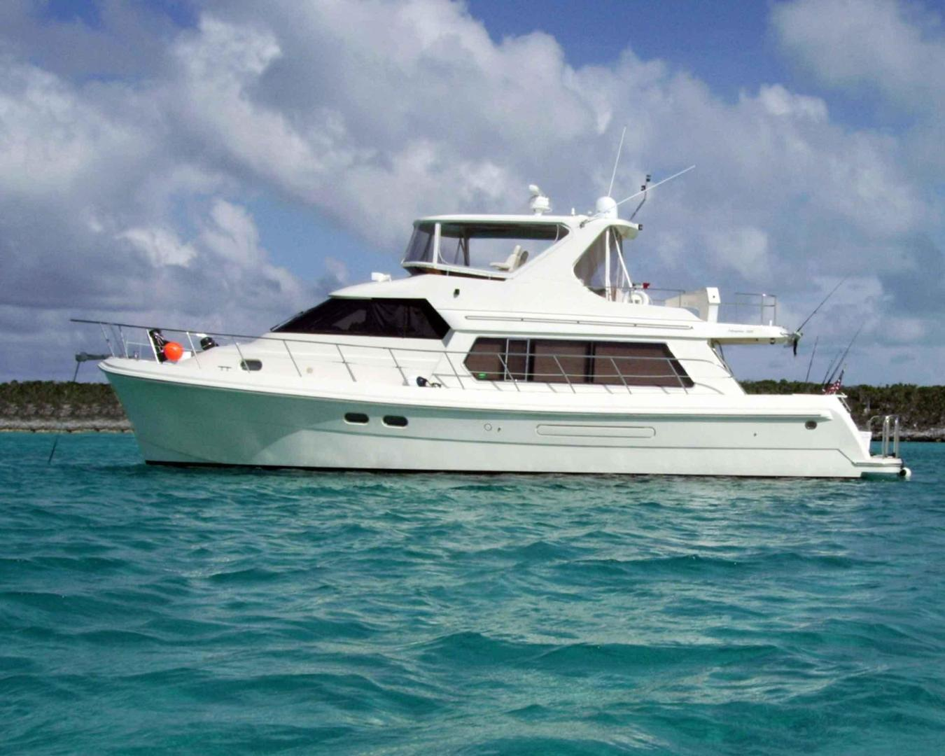 Picture Of: 55' Hampton 558 Pilothouse 2005 Yacht For Sale | 1 of 48