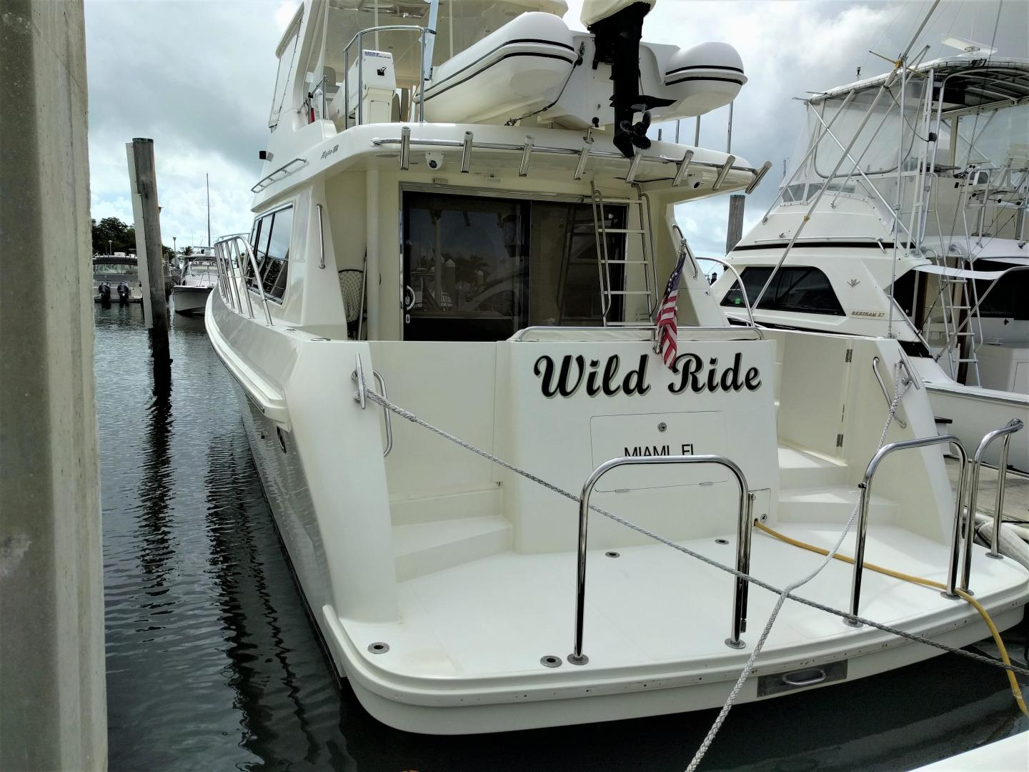 Picture Of: 55' Hampton 558 Pilothouse 2005 Yacht For Sale | 2 of 48
