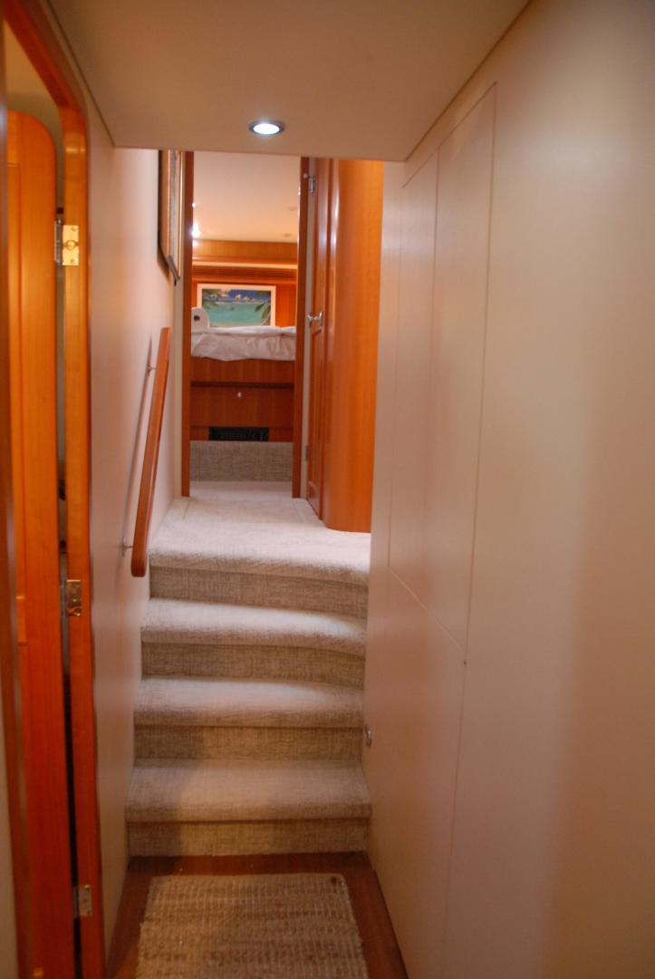 West Bay-Sonship 2003-ROOM SERVICE Fort Lauderdale-Florida-United States-Companionway-474088 | Thumbnail