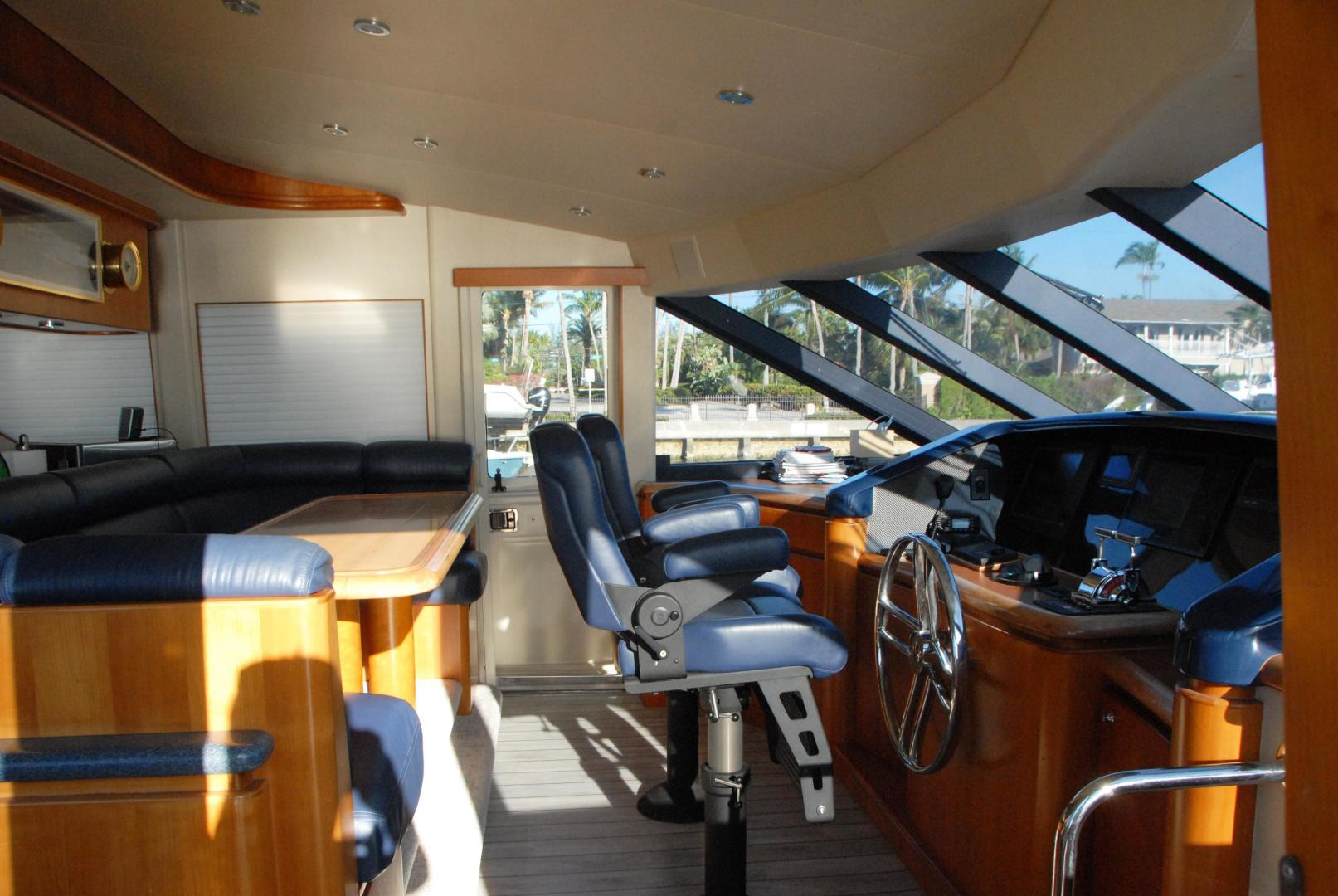 West Bay-Sonship 2003-ROOM SERVICE Fort Lauderdale-Florida-United States-Pilothouse / Settee-474078 | Thumbnail