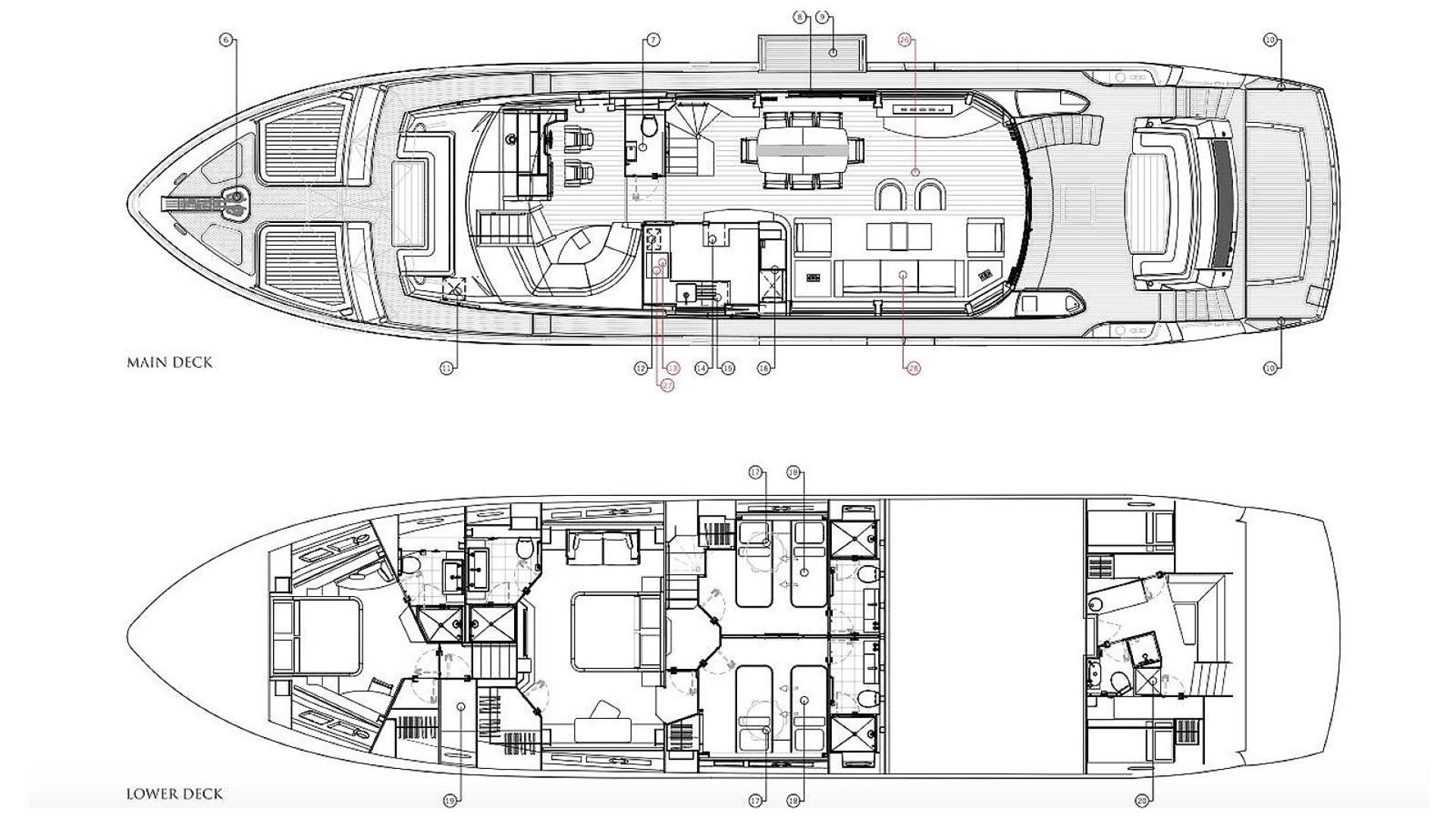 Sunseeker-28 Metre Yacht 2016-RIII Miami-Florida-United States-600133 | Thumbnail