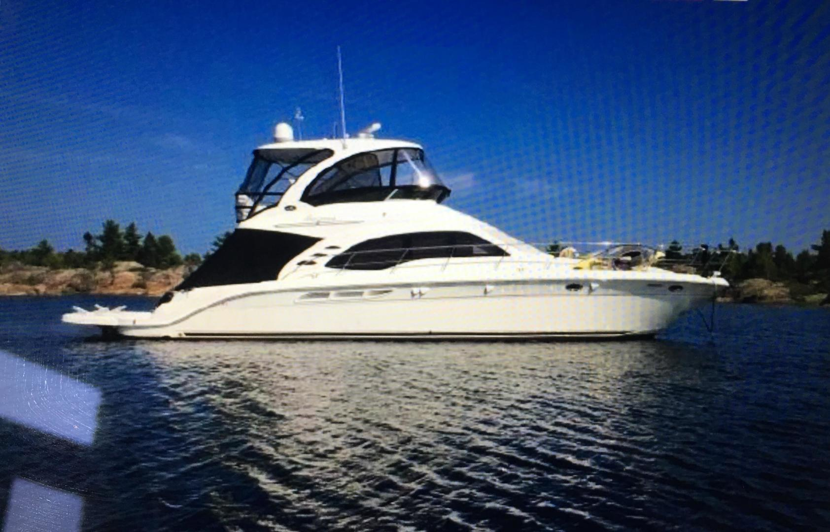 2007 Sea Ray 52' 52 Sedan Bridge