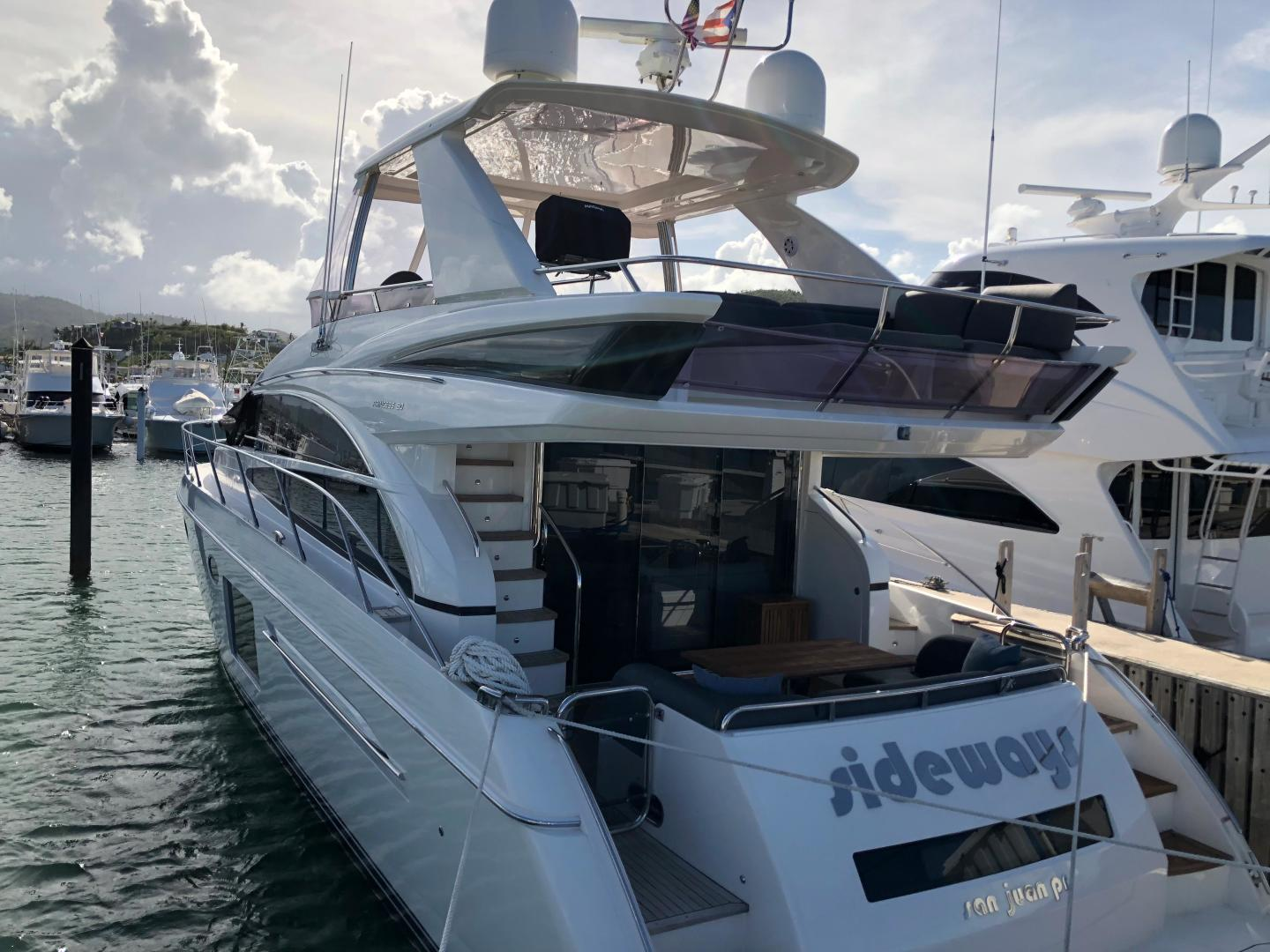 Picture Of: 62' Princess 60 2013 Yacht For Sale   2 of 145