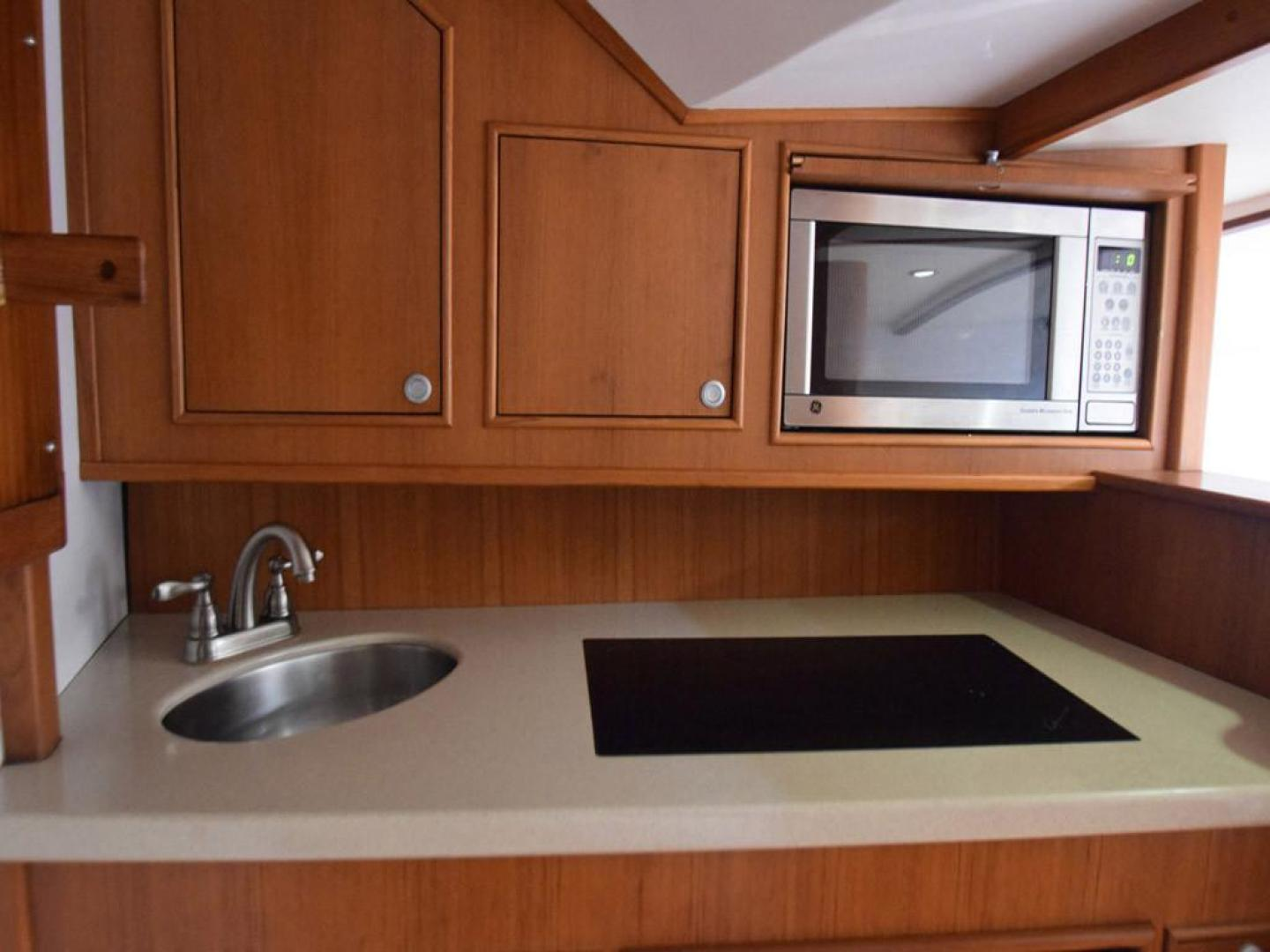 Custom-Middleton Sports Fisherman 2008-Chasing Tail Dania-Florida-United States-Galley with Counter and Cabinets and Oven-913263 | Thumbnail