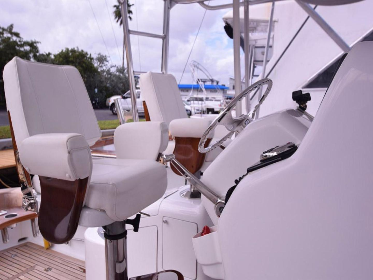 Custom-Middleton Sports Fisherman 2008-Chasing Tail Dania-Florida-United States-Helm Seating to Port-913281 | Thumbnail