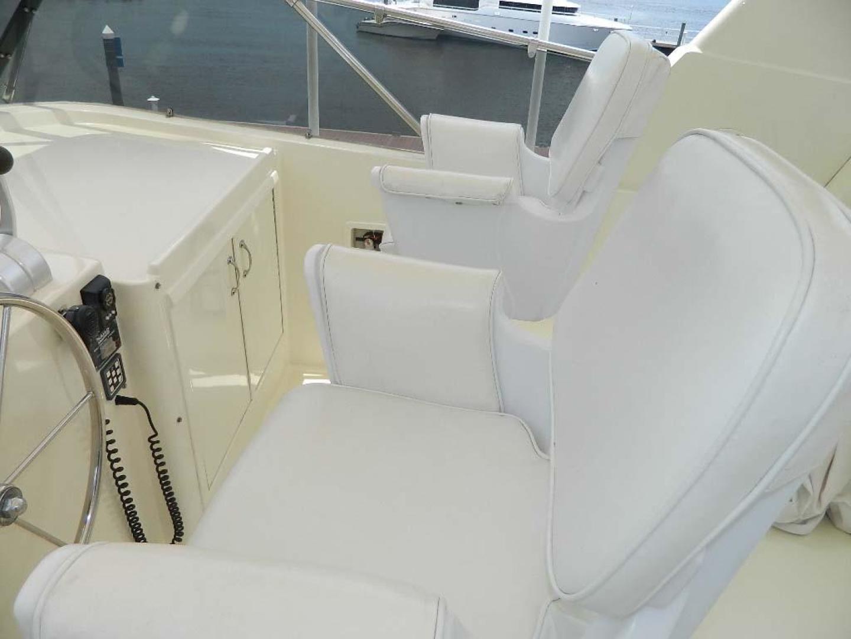 Hatteras-Motor Yacht 1989-Windfall Stuart-Florida-United States-Upper Helmseats-910386 | Thumbnail