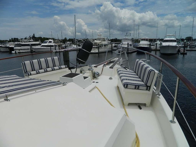 Hatteras-Motor Yacht 1989-Windfall Stuart-Florida-United States-Foredeck-910362 | Thumbnail
