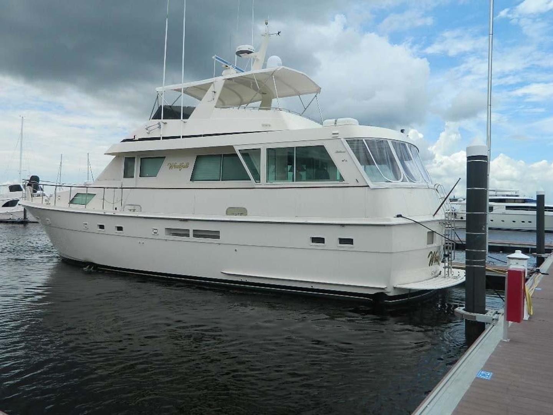 Hatteras-Motor Yacht 1989-Windfall Stuart-Florida-United States-Profile-910359 | Thumbnail