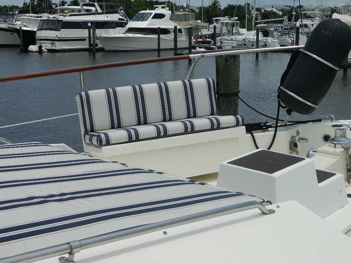 Hatteras-Motor Yacht 1989-Windfall Stuart-Florida-United States-Foredeck Seating-910363 | Thumbnail