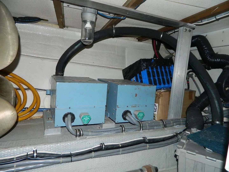 Hatteras-Motor Yacht 1989-Windfall Stuart-Florida-United States-Generator Room-910457 | Thumbnail