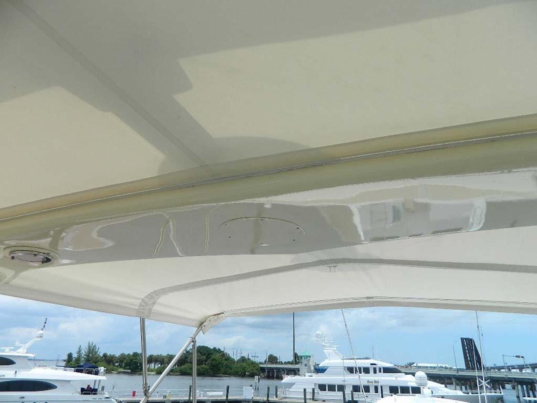 Hatteras-Motor Yacht 1989-Windfall Stuart-Florida-United States-Flybridge Bimini-910395 | Thumbnail