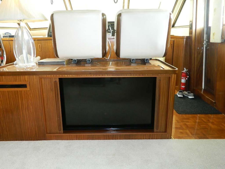 Hatteras-Motor Yacht 1989-Windfall Stuart-Florida-United States-Salon Entertainment Center-910399 | Thumbnail