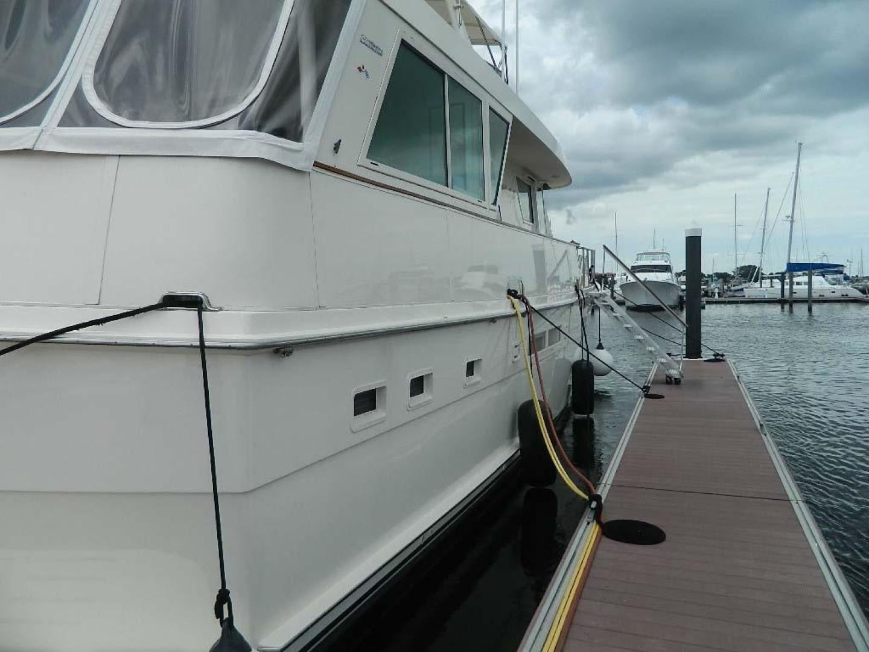 Hatteras-Motor Yacht 1989-Windfall Stuart-Florida-United States-Stbd Side-910360 | Thumbnail