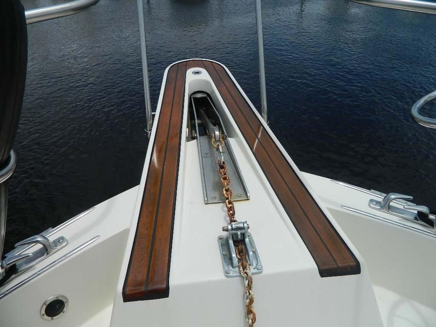 Hatteras-Motor Yacht 1989-Windfall Stuart-Florida-United States-Bow Pulpit-910367 | Thumbnail