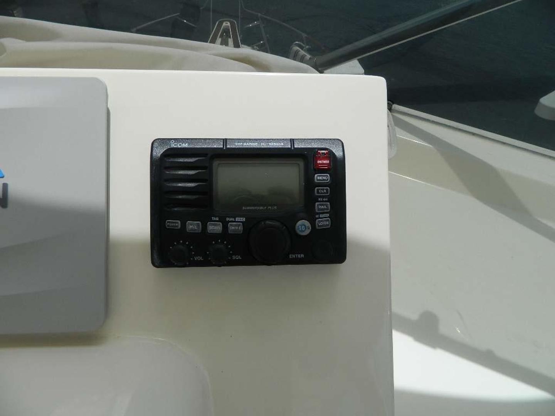 Hatteras-Motor Yacht 1989-Windfall Stuart-Florida-United States-Upper Helm VHF-910391 | Thumbnail