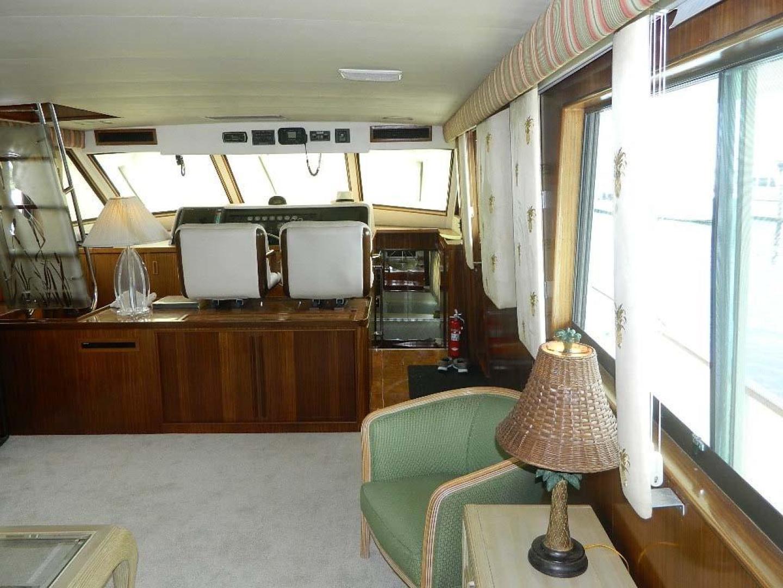 Hatteras-Motor Yacht 1989-Windfall Stuart-Florida-United States-Salon Fwd-910404 | Thumbnail