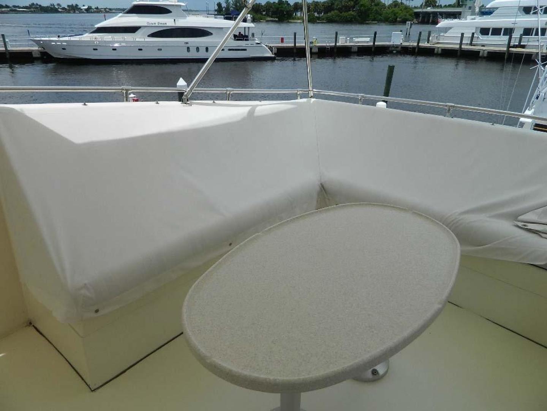 Hatteras-Motor Yacht 1989-Windfall Stuart-Florida-United States-Flybridge Seating Covers-910393 | Thumbnail