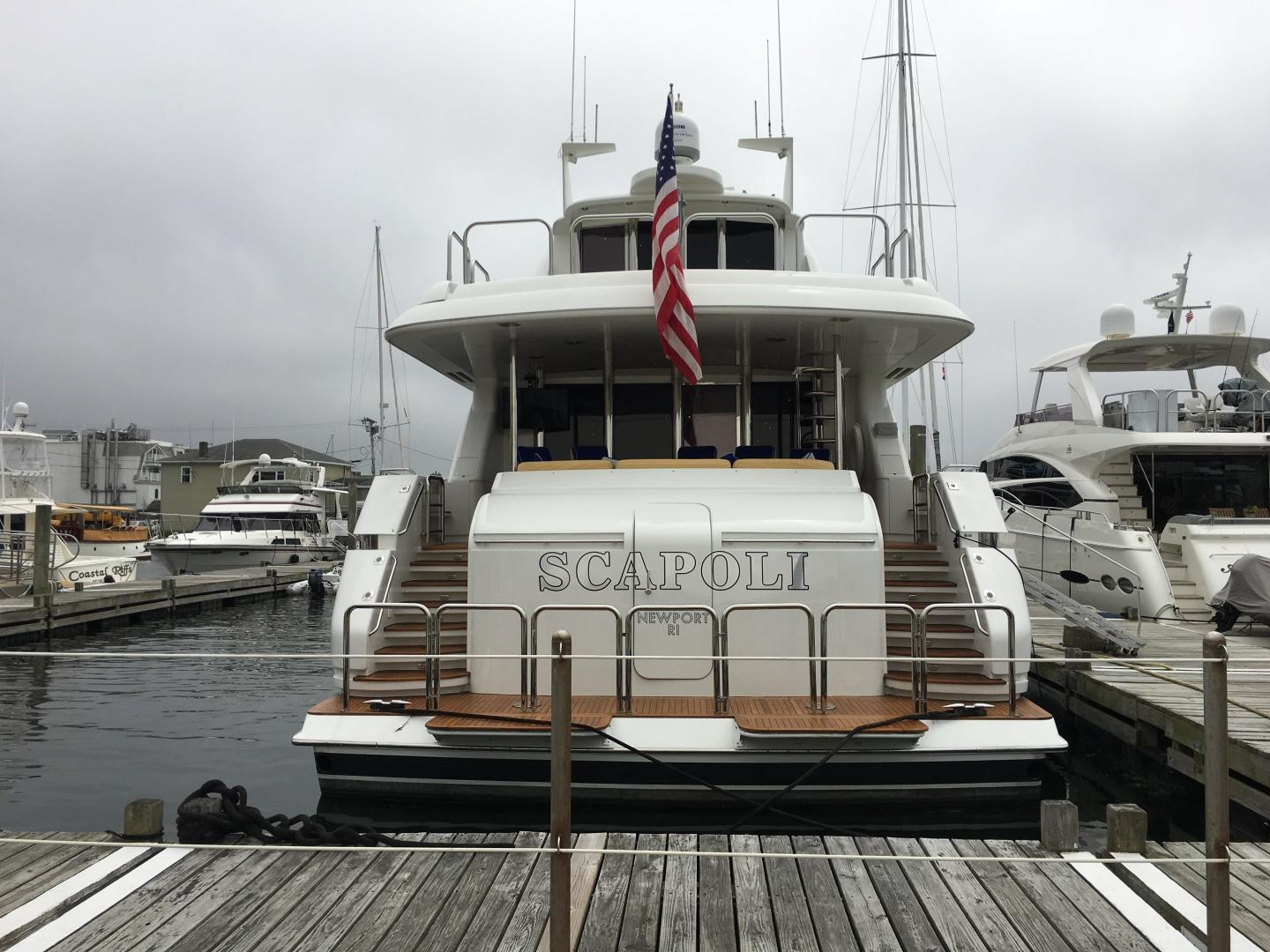 Picture Of: 94' Lazzara Yachts Motor Yacht 2002 Yacht For Sale | 2 of 45