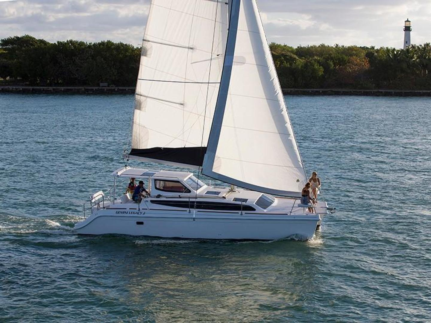 Picture Of: 35' Gemini Legay 35 2017 Yacht For Sale   1 of 16