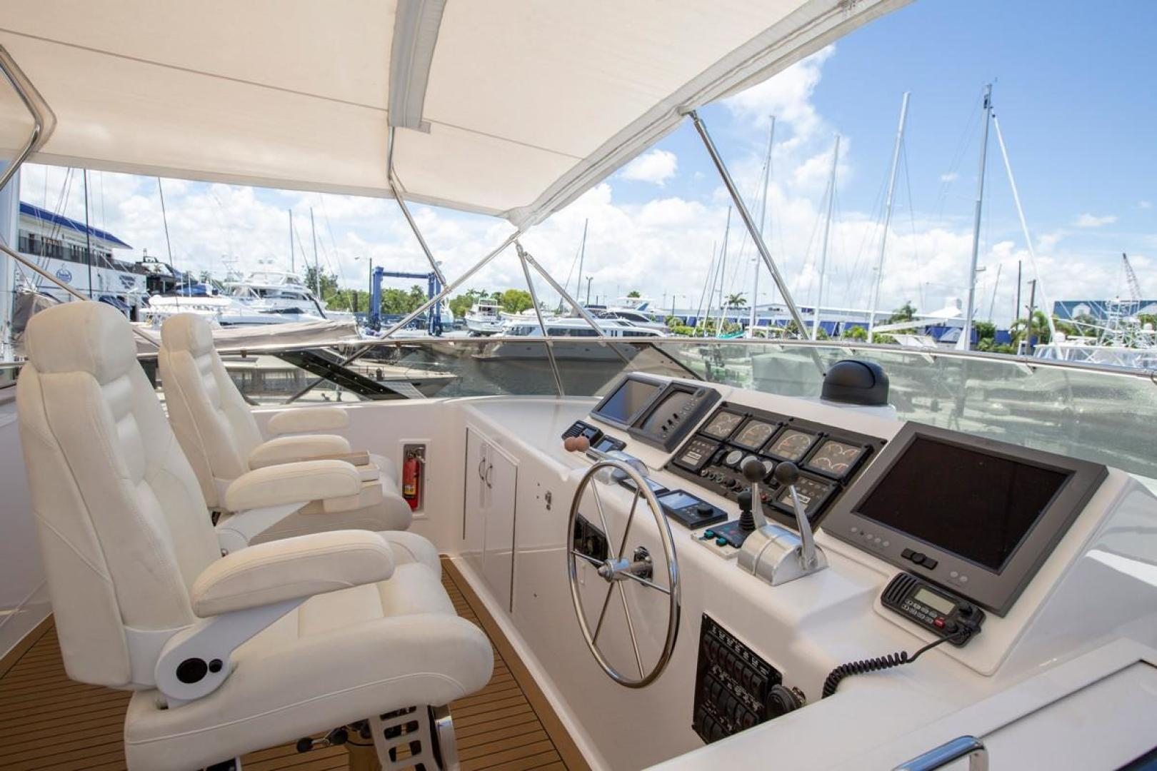 Hatteras-Cockpit Motor Yacht 2000-Getaway Ft. Lauderdale-Florida-United States-977402 | Thumbnail