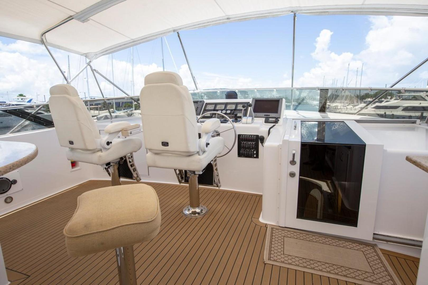 Hatteras-Cockpit Motor Yacht 2000-Getaway Ft. Lauderdale-Florida-United States-977395 | Thumbnail