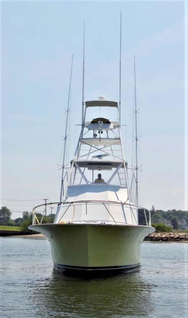 Buddy Davis-47 Sportfish 1988-Yellowfin Milford-Connecticut-United States-Bow Flare-1031236   Thumbnail