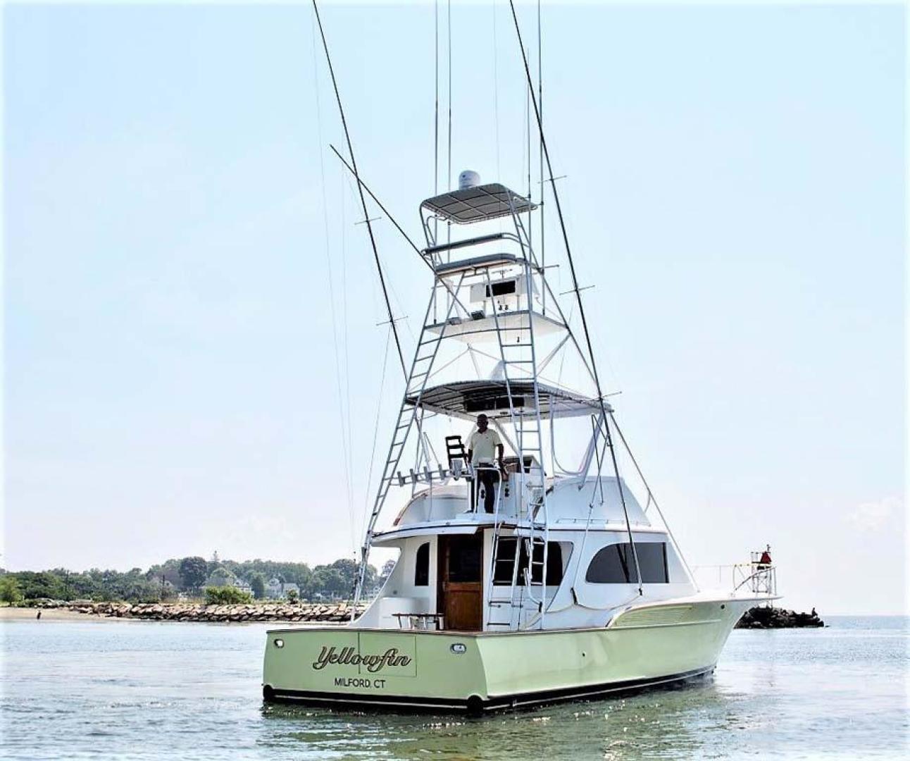 Buddy Davis-47 Sportfish 1988-Yellowfin Milford-Connecticut-United States-Stbd Aft Qtr-1031237   Thumbnail