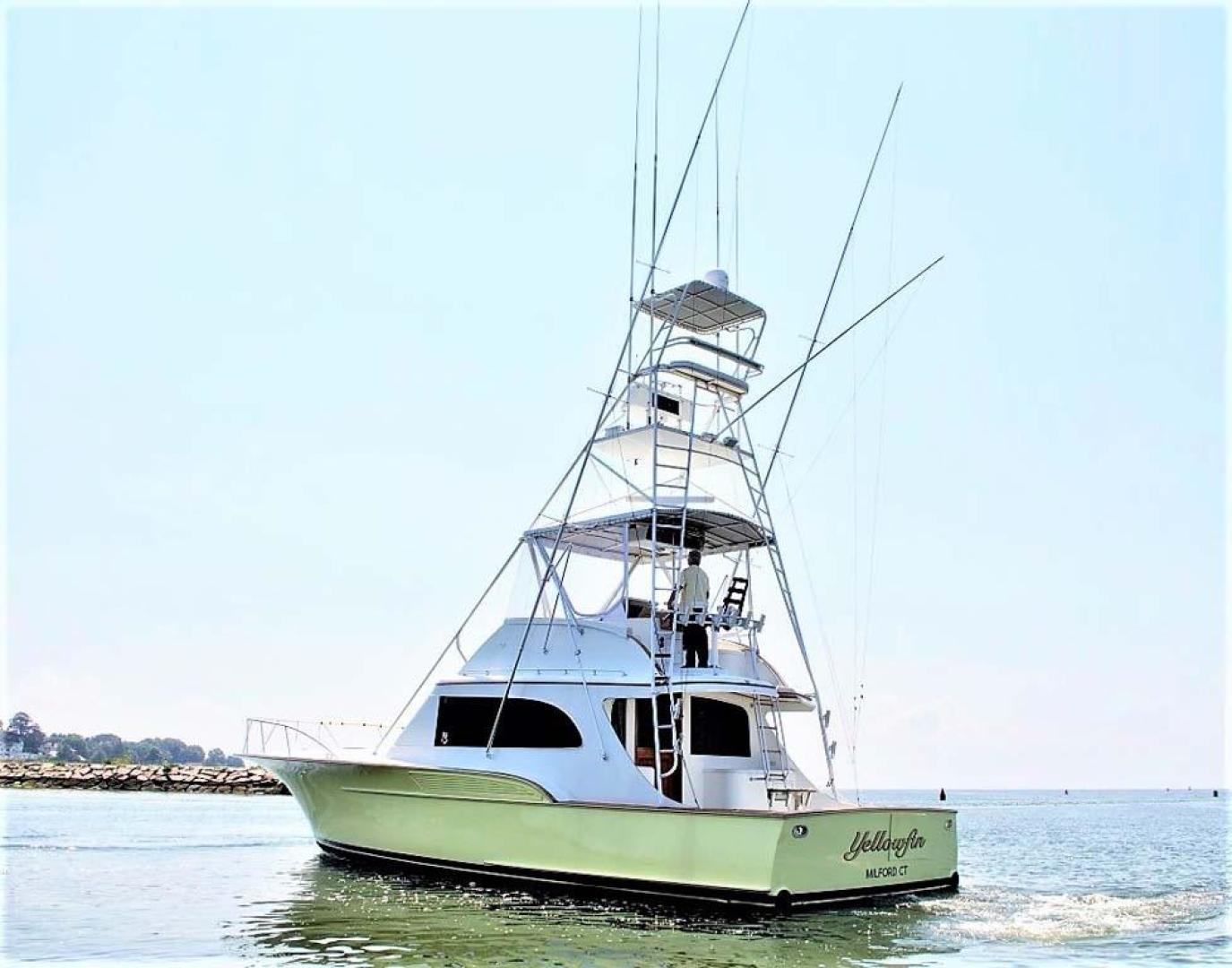 Buddy Davis-47 Sportfish 1988-Yellowfin Milford-Connecticut-United States-Port Aft Qtr-1031235   Thumbnail