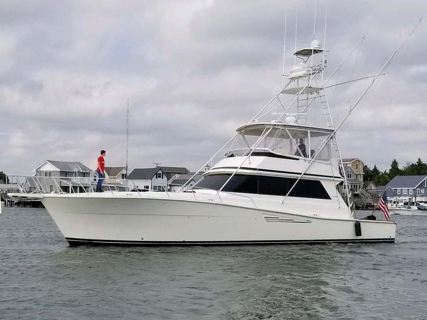 Viking 57' Convertible 1989  On The Hook