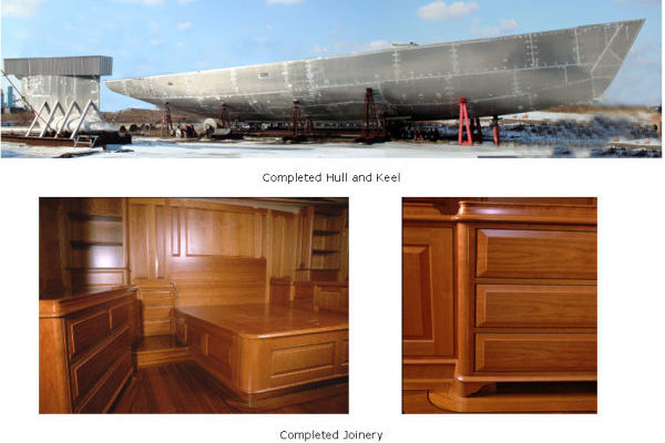 photo of Completed Hull & Joinery