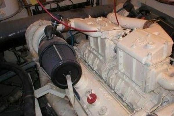 1981Hatteras 61 ft Cockpit Motor Yacht