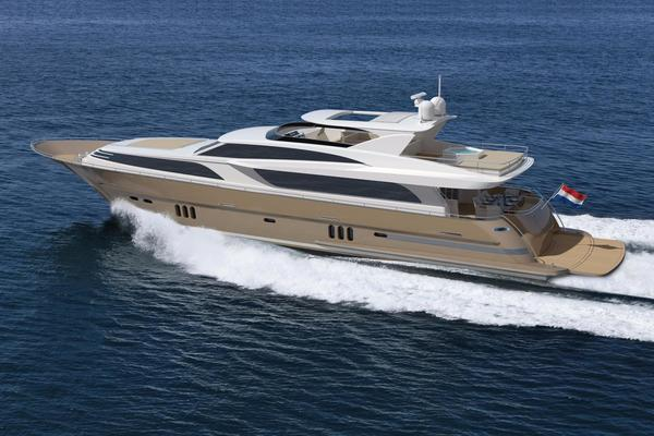 2020Van der Valk 112 ft Raised Pilothouse 35M
